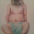 baby cat by Jaimee Fryer