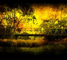 Queens Park Bridge - Geelong Victoria by Graeme Buckland