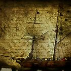 Diary of a Pirate Ship - Queenscliff Victoria by Graeme Buckland