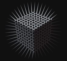 Holy cube - black by fischer
