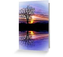 The Tree Of Reflections Greeting Card