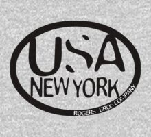 usa new york tshirt by rogers bros co by usanewyork