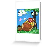 Stonedolino Greeting Card