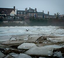 River Severn glacier looking by Matt Sillence