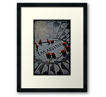 Imagine - The John Lennon Memorial Framed Print
