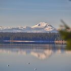 Mount Lassen and Lake Almanor by the57man
