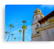 ... that biggest palm on the right Canvas Print