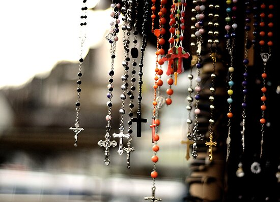 Camden Crucifixes. by Ruth Jones