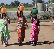 Pots of Drinking Water by Indrani Ghose