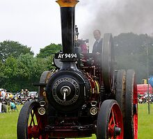 Steam Engine by Norfolkimages