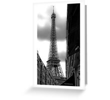 Shot To Death In Paris Greeting Card