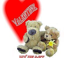 Teddy Valentine  by missmoneypenny