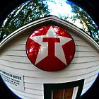 Old Texaco Sign by Clayton Bruster