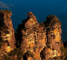 101229 Blue Mountains Three Sisters from Echo Point by Jaxybelle
