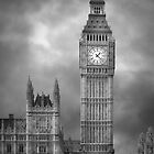 London - Big Ben by John Bullen