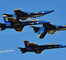Blue Angels by GarethWilton