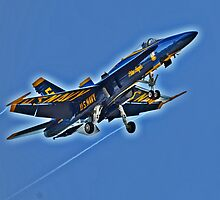 Blue Angel Jet by GarethWilton