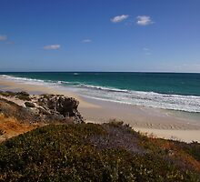 Yanchep Lagoon (south beach) late afternoon by georgieboy98