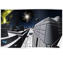 Star Cruiser Excalibur Poster