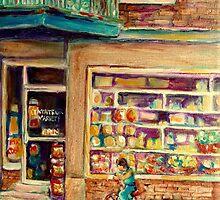 ST. VIATEUR STORE by Carole  Spandau