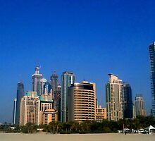 Jumeirah Beach, Dubai by Lucy-Jane Newman