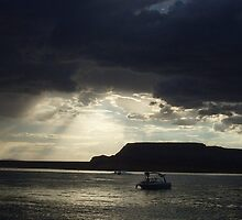 """ Calm after the Storm- Lake Powell, AZ "" by NikkiLoomis"