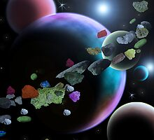 Asteroid Belt by foggynotion
