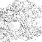 Battle of Anghiari by marokoshi