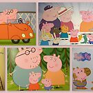 Peppa Pigs family  by ©The Creative  Minds