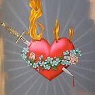 Flaming Heart by chelsgus