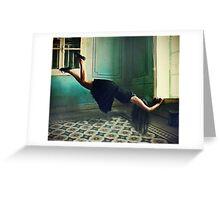 Alice hang on Greeting Card