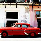 Red Car- Havana by Adam Booth
