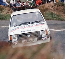 Colin Mcrae - 1987 Manx International Rally by MSport-Images