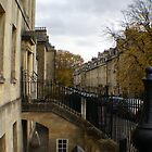 Georgian streetscape of Bath by BronReid