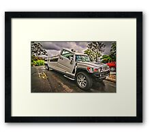 Road Train Framed Print