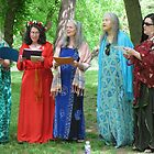 Beltane Choir by Hank Eder
