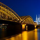 Cologne Cathedral on the Rhine - Germany by Yen Baet