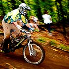 Downhill Racing at Sunday River by A. Kakuk