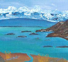 """""""Sandy Beach - Lake Superior"""" by Don Charbonneau"""