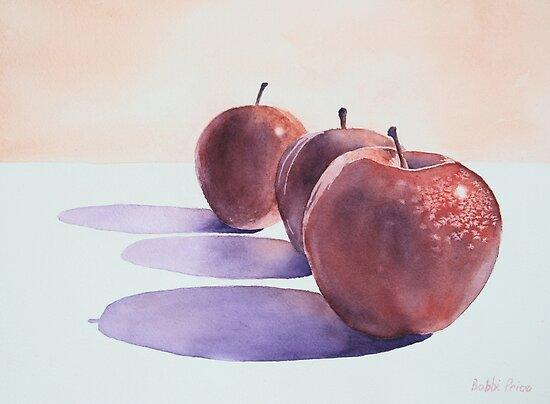 Red Apples by Bobbi Price