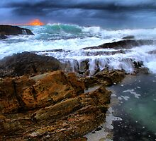 Mystery Bay Sunrise by Petehamilton
