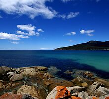 Wine Glass Bay II - Freycinet National Park, Tasmania by Nathan Lam