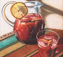Sangria Afternoon by Peggy Selander