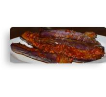 Eggplants in Spicy Sauce Canvas Print