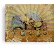 elephant blessing Canvas Print