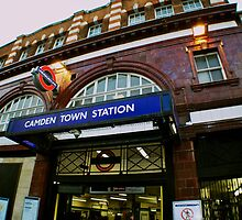 Camden Town Station by Rebecca Staffin