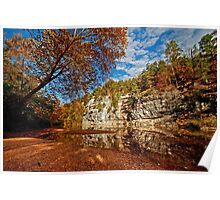Bluff of the Buffalo National River Poster