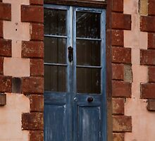 The blue door by Lois Romer