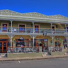 The old Vic Hotel - Montagu by Gideon van Zyl