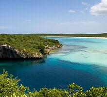 Dean's Blue Hole, Long Island, Bahamas by Shane Pinder